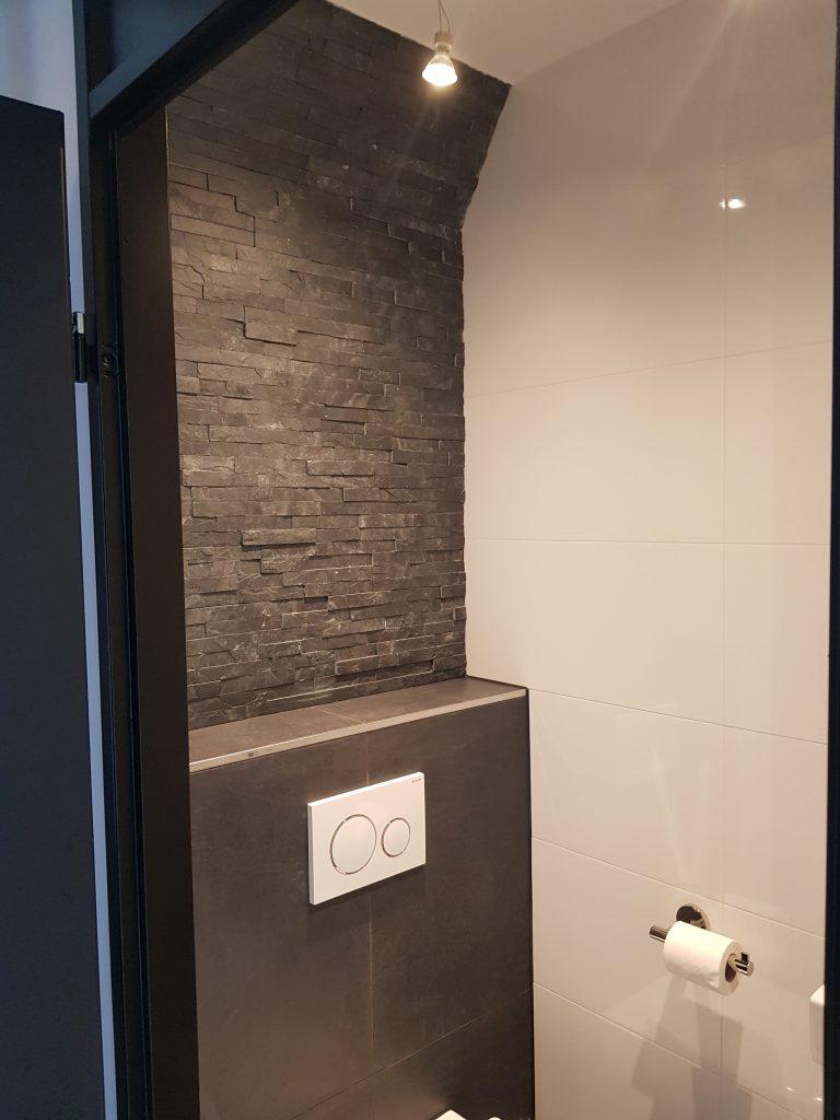 Woonkamer en toilet renovatie Heerenven